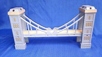 Thomas the Train Wood Track Suspension Bridge Lights & Sound *READ*