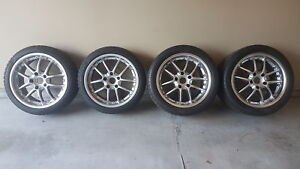 Porsche Winter/Cold Weather Wheels and Tires