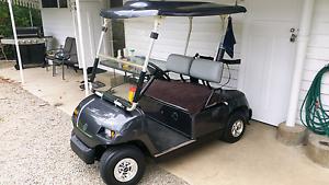 Yamaha g22e golf cart and trailer Kilcoy Somerset Area Preview