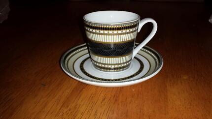 Espresso Cups/saucers x 6