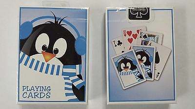 Holiday 2014 Penguin Playing Cards Deck By US Playing Card Co. Brand New (Penguin Holiday Card)