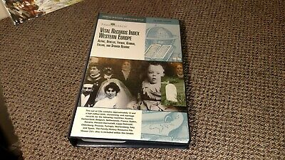 FamilySearch Vital Records Index Western Europe CD Rom Set Family Search