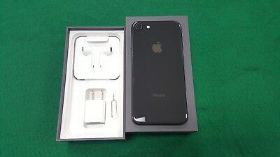 INBOX NEW Apple iPhone 8 - 256GB- Extent GRAY (GSM GLOBAL Unlocked). OEM EXTRAS