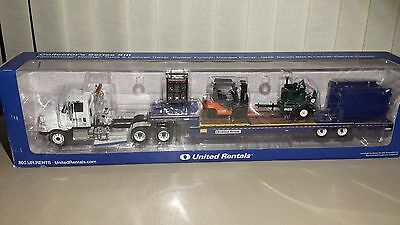 United Rentals International Prostar Truck  Lowboy Trailer    Equipment