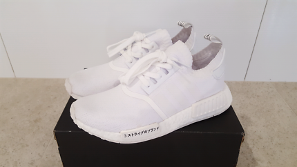 Adidas Boost NMD r1 'Triple White - Japan Edition' 8.5us