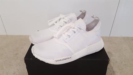 Adidas Boost NMD r1 'Triple White - Japan Edition' 8.5us
