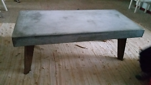 Rustic Concrete coffee table Nowra Nowra-Bomaderry Preview