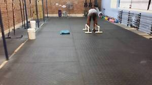 6 x 4 ft Gym floor rubber matting Marsfield Ryde Area Preview
