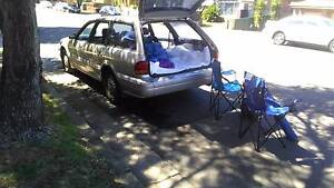 Reliable wagon, a year rego slip, camping stuf, bed Potts Point Inner Sydney Preview