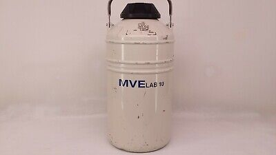 Mve Lab 10 Liter Cryogenic Container For Liquid Nitrogen