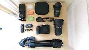 Nikon D300s DSLR with nikkor 17-55mm f2.8 lens kit and more Revesby Bankstown Area Preview