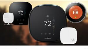 NEST ECO BEE THERMOSTAT INSTALLED