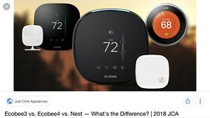 NEST ECOBEE SMART THERMOSTAT INSTALL