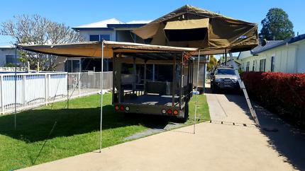 Bike/ Quad , Camper trailer.