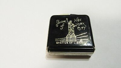 Vintage Statue Of Liberty Souvenir Of New York City Hat And Clothes Brush Nice