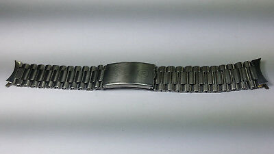 18mm west end watch stainless steel Buff bracelet Chain Strap 150MM