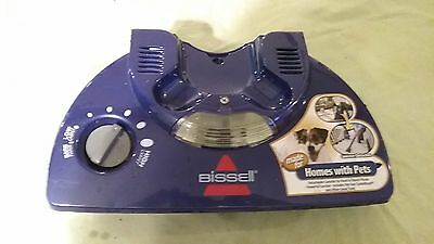 Bissell Lift Off Multi Cyclonic Vacuum top cover with height adjust knob B-203-6
