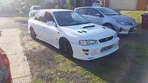 1999 SUBARU WRX VERSION 6 STI #145 Dallas Hume Area Preview