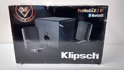Klipsch ProMedia 2.1 BT Bluetooth Computer Speakers and Subwoofer System