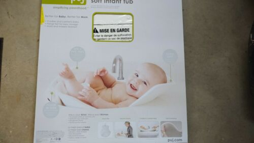 Puj Tub - The Soft, Foldable Baby Bathtub - Newborn, Infant, 0-6 Months