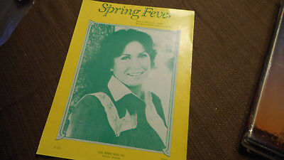 Loretta Lynn Spring Fever 1978 Photo Sheet Music