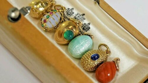 Antique Russian Gold EGG - Each Egg is sold individually, circa 1899-1917