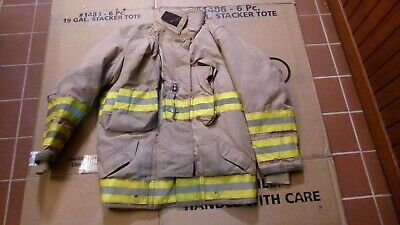Firefighters Jacket Turnout Bunker Gear Fireman