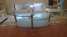 glass coffee table Sans Souci Rockdale Area Preview