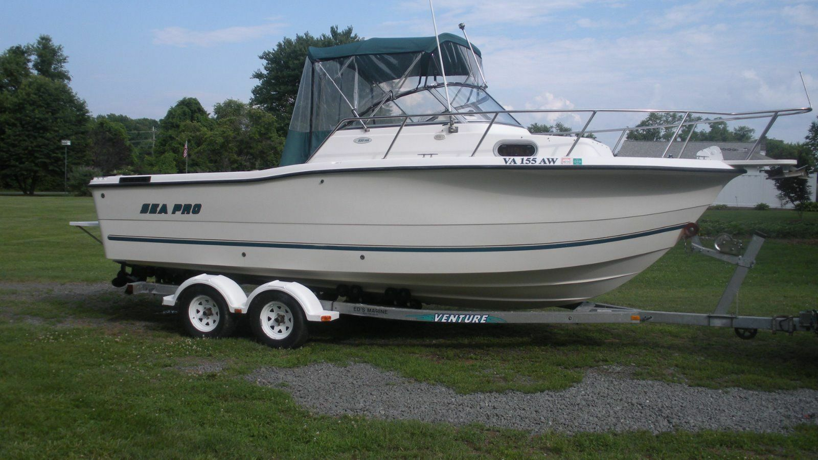 Offshore Saltwater Fishing Boats For Sale Ebay