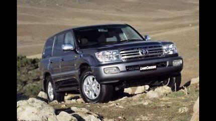 Toyota Landcruiser Sahara  hdj100r 2006 graphite Wildwood Hume Area Preview