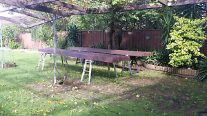 FOR QUICK SALE: Oregon timber new and painted 150x50 Mount Lewis Bankstown Area Preview