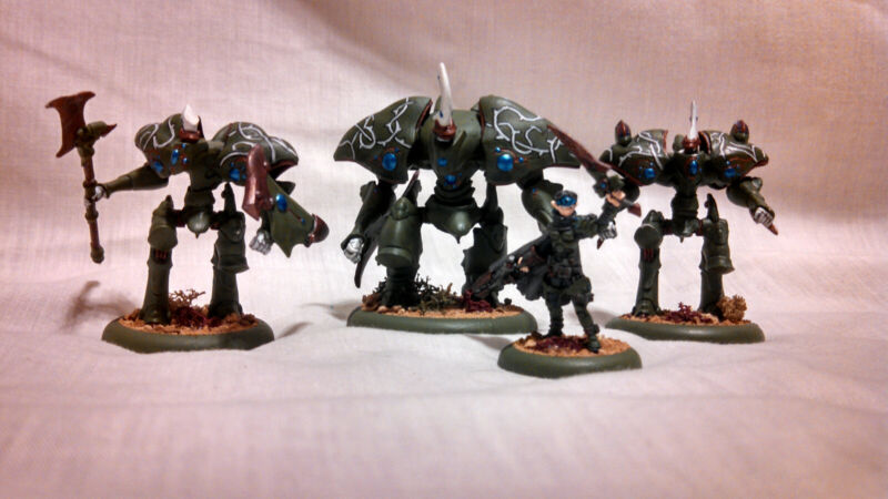 Warmachine Privateer Press Retribution of Scyrah Small Lot Fully Painted