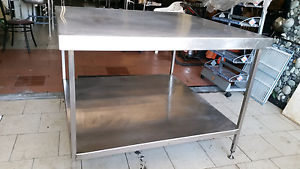 Stainless steel bench commercial Kitchen high quality heavy gaug Coburg North Moreland Area Preview