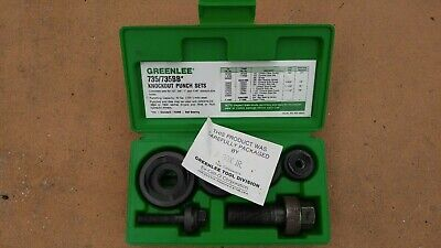 Greenlee Knockout Punch Set 735bb 735 Bb
