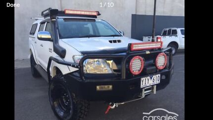 2011 TOYOTA HILUX SR 4x4 TURBO DIESEL Altona North Hobsons Bay Area Preview