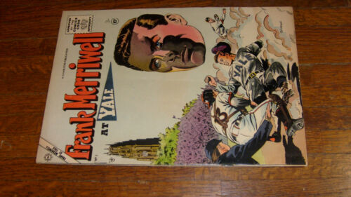 FRANK MERRIWELL AT YALE #1, 1955 CHARLTON COMIC