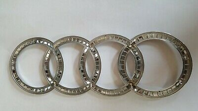 2013-2017 AUDI S7 REAR TRUNK CHROME OEM EMBLEM BADGE SYMBOL SIGN RINGS (2013)