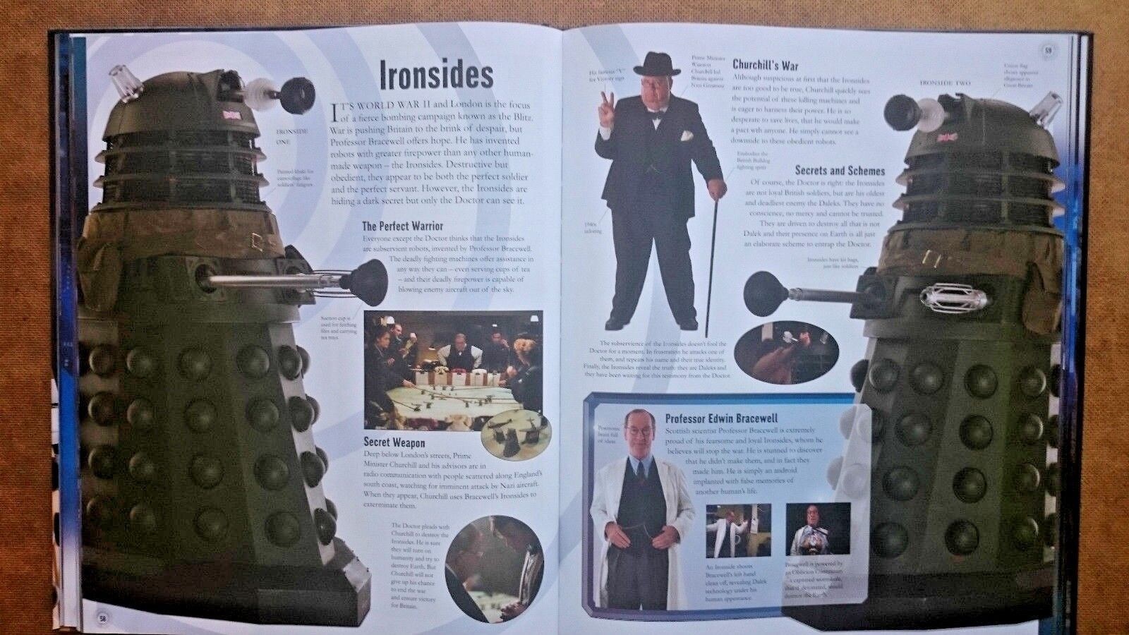 Doctor Who  Visual Dictionary by Andrew Darling, (Hardback 2010)