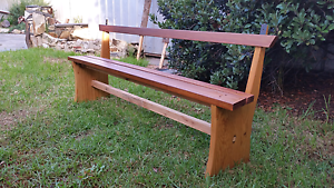Solid handmade bench Glengowrie Marion Area Preview