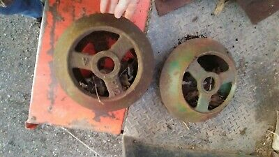 Cast Iron Cultipacker Wheel Oliver New Old Stock