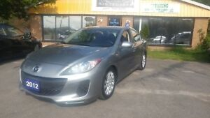 2012 Mazda Mazda3 GS-SK 6 Spd !!CERTIFIED!!FINANCING!!WARRANTY!!