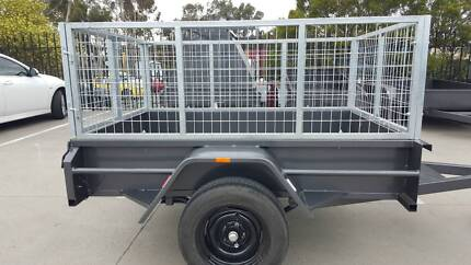 Box Caged Trailer Hire