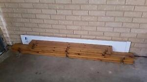 Sold pending pickup - Free wood and laminate shelving Regency Park Port Adelaide Area Preview