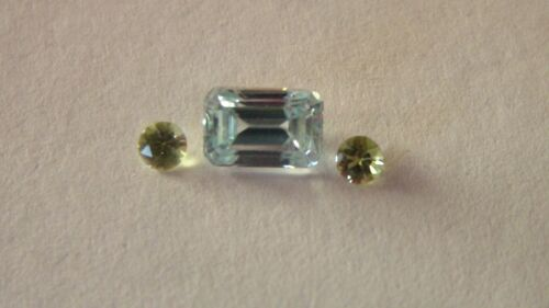 Andys Garage Sale - Blue Zircon /Peridot Combo - Natural - Awesome Deal