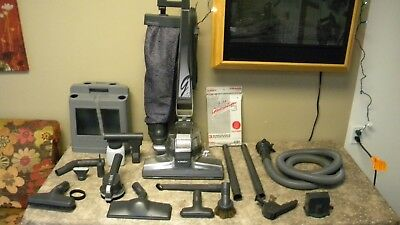 Kirby G4 Self Propelled Vacuum Cleaner, Attachments, Hose, 2 Bags &1 Belt