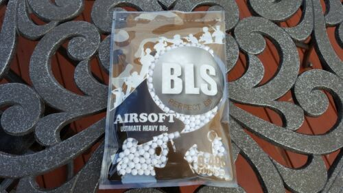 [PLA40-1] BLS Perfect Airsoft .40g BIO BBs White BB 0.40g .40 0.40 6mm 1000CT