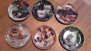 Franklin Mint collection plates, cats and wild life collection Thornlands Redland Area Preview