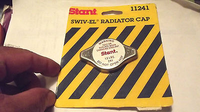 1 STANT#11241=10241 IF IN BOX,NEW RADIATOR CAP 13LBS PRESSURE,MADE IN JAPAN.1.5.