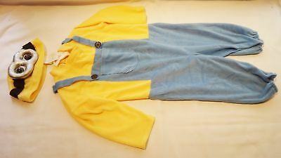 2015 Minion Bob Toddler Costume 2-4T](Minion Costume 4t)