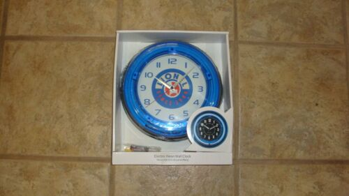 LIONEL TRAINS CLOCK 10 1/2 INCHES COMPLETE WILL ALL THE HARDWARE